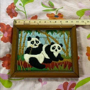 Vintage panda picture